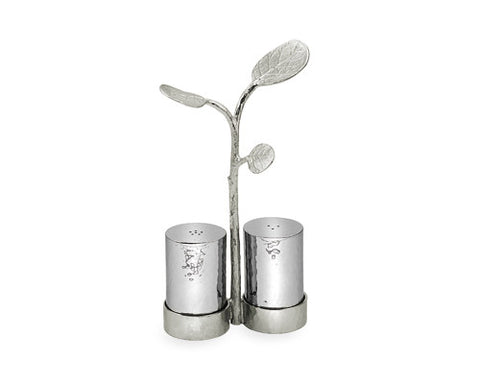 Botanical Leaf Salt & Pepper - La Perla Home in Montrose CA