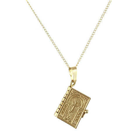 Armenian Lord's Prayer Necklace in 14 Karat Gold - La Perla Home in Montrose CA