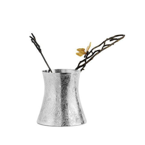 Butterfly Ginkgo Large Coffee Pot w/ Spoon
