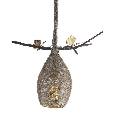Butterfly Ginkgo Cocoon Pendant Lamp Extra Small