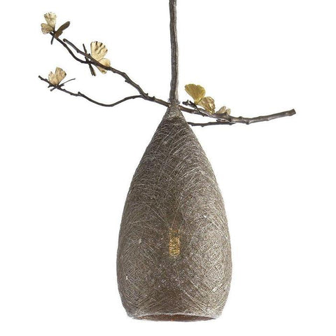 Butterfly Ginkgo Cocoon Pendant Lamp Large