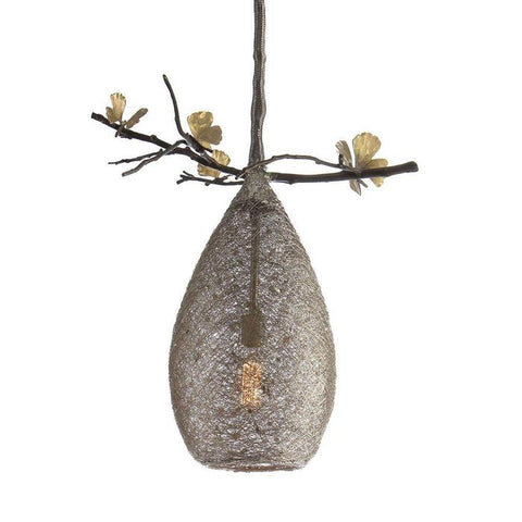 Butterfly Ginkgo Cocoon Pendant Lamp Medium