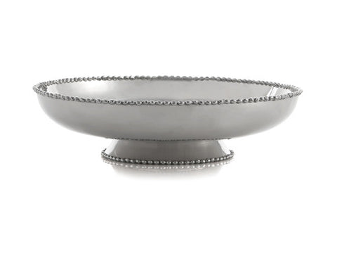 New Molten Footed Platter Medium - La Perla Home in Montrose CA