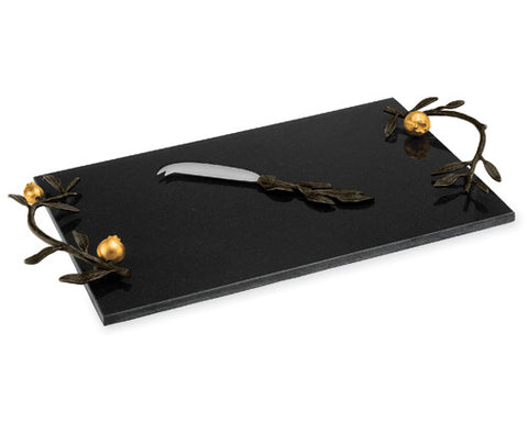 Pomegranate Cheese Board Goldplate - La Perla Home in Montrose CA