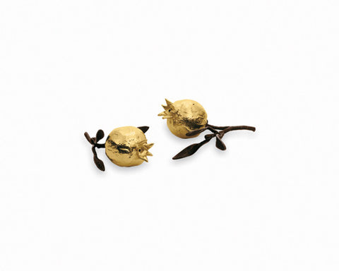 Pomegranate Salt & Pepper Goldplate - La Perla Home in Montrose CA