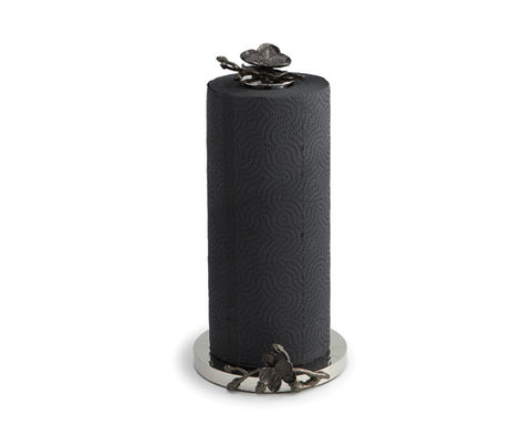 Black Orchid Paper Towel Holder - La Perla Home in Montrose CA