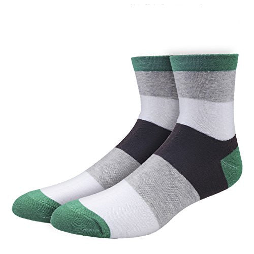 Men's Sport Hiking Socks Colorful Patterened Casual Socks