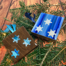 Blue Snowflake Ornament II