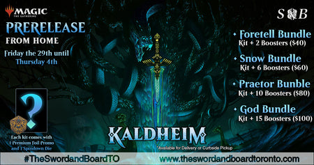 Kaldheim Pre-Release from Home