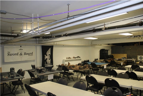 sword and board indoor game space in toronto