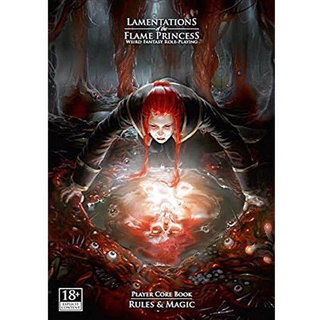 Lamentations of the Flame Princess: Player Core Book