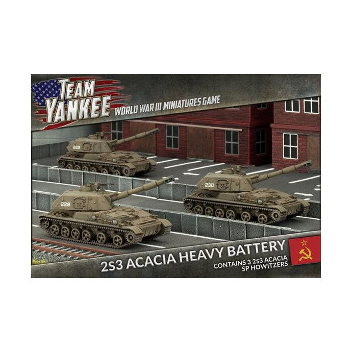 Team Yankee: 2S3 Acacia Heavy SP Howitzer Battery