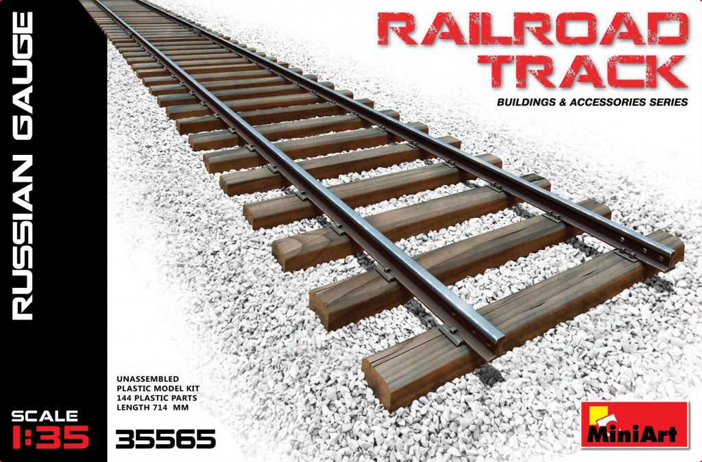 MiniArt Railroad Track Russian Guage