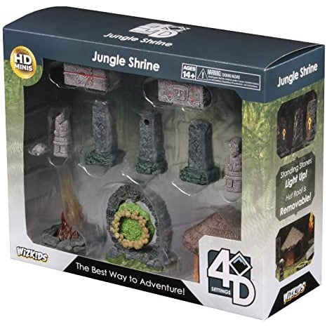 4D Settings: Jungle Shrine