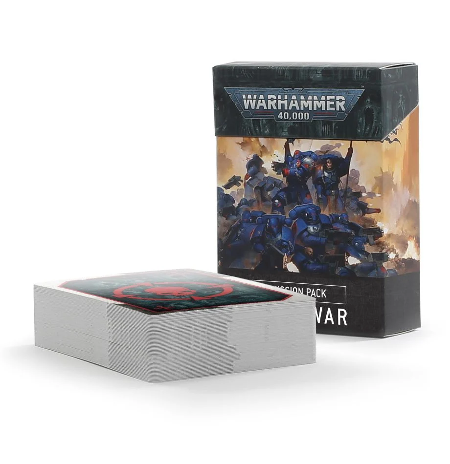 Warhammer 40K 9th ed. Open War Cards