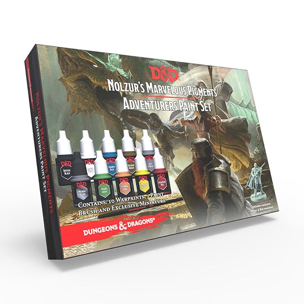 Nolzur's Marvelous Pigments: Adventurer Paint set