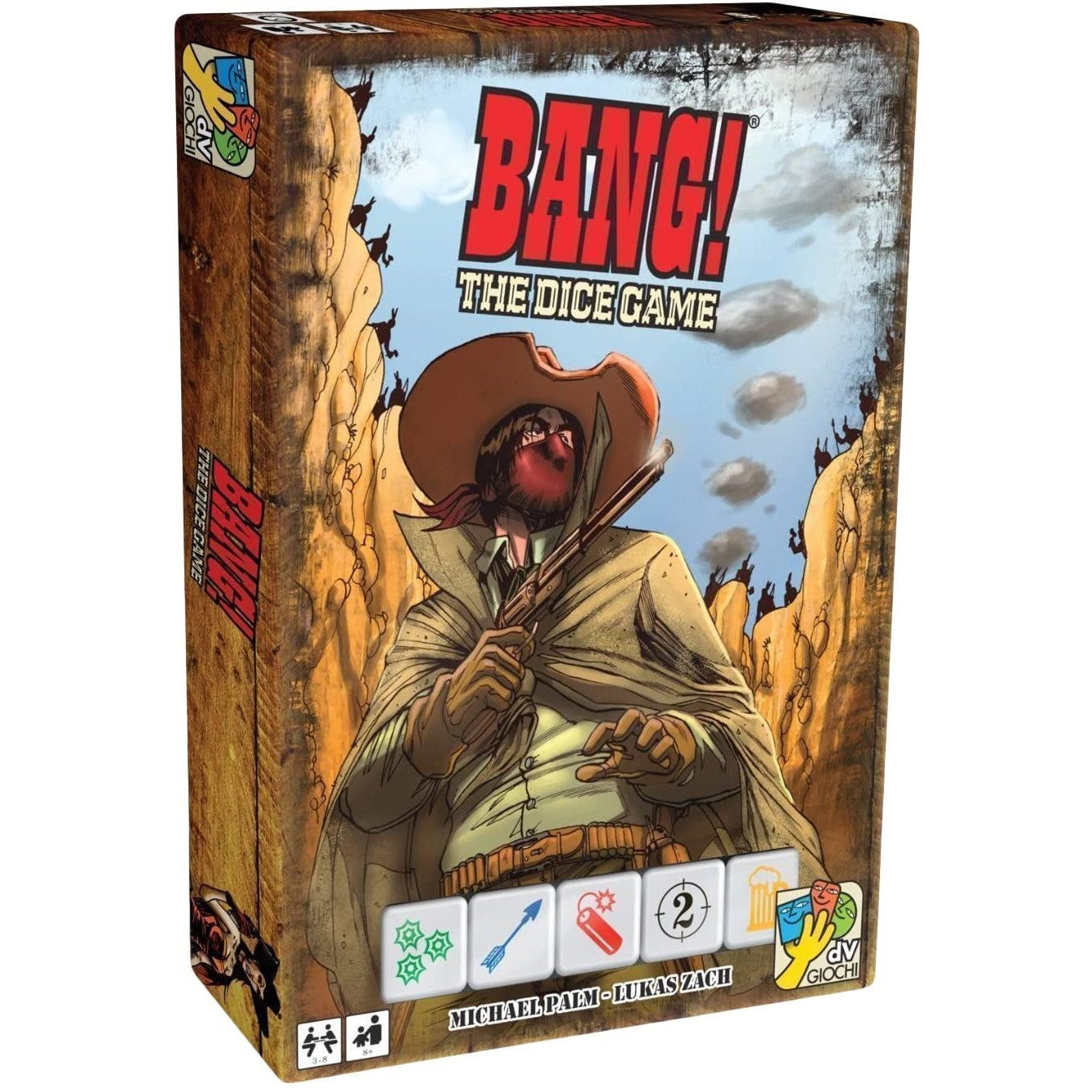 Bang! The Dice Game Packaging
