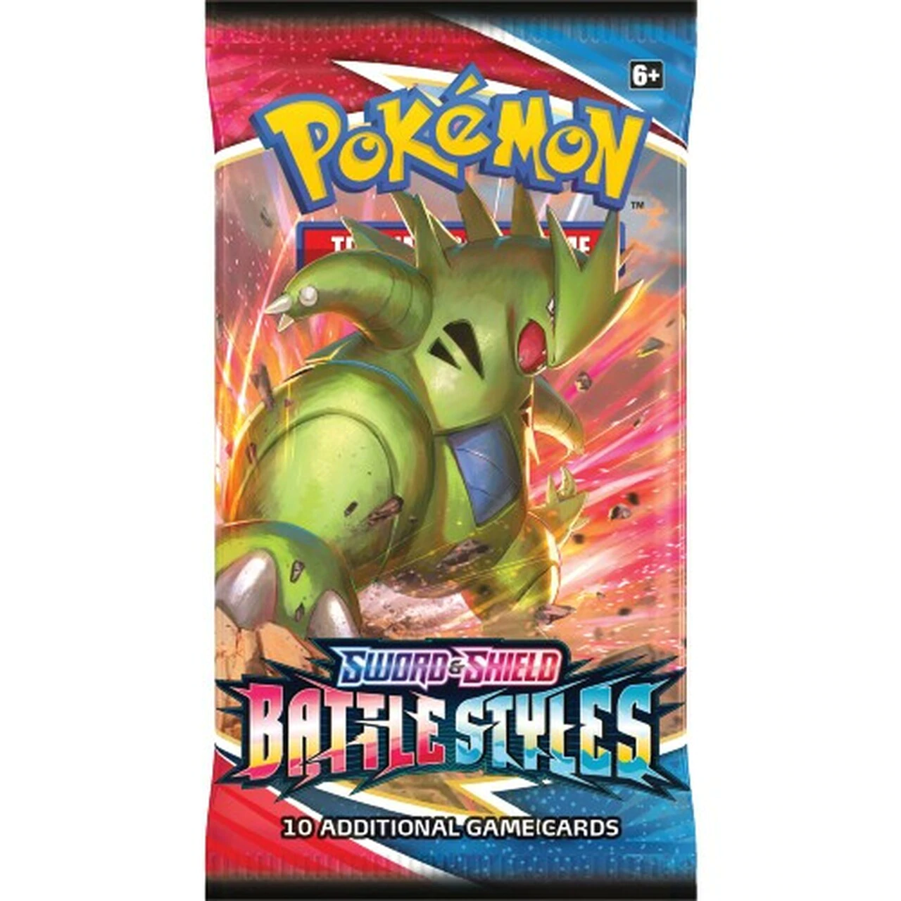 foil packaging image for Battle Styles Booster Pack