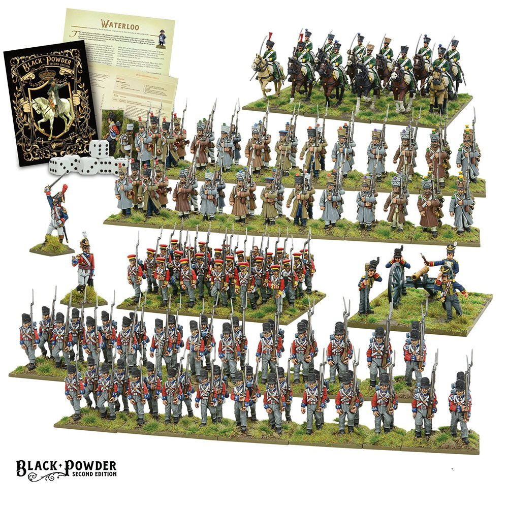 Black Powder: Waterloo 2nd ed. Starter set