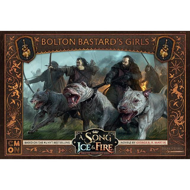 A Song of Ice & Fire Tabletop Miniatures Game: Bolton Bastard's Girls