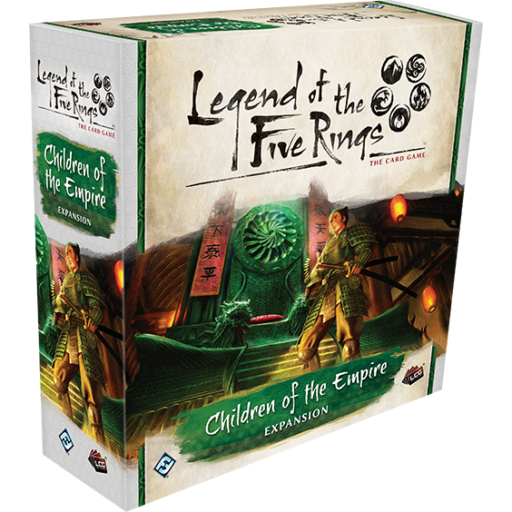 Legend of the Five Rings: The Card Game - Children of the Empire Expansion