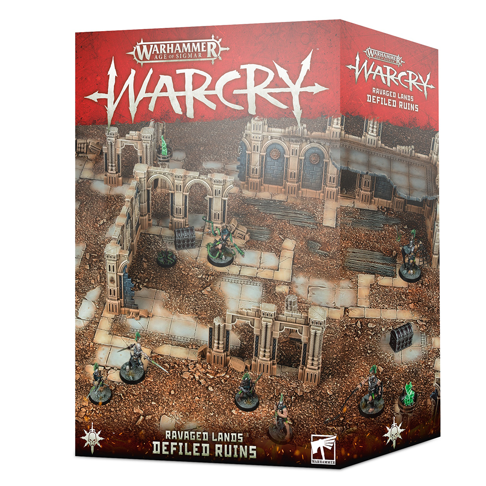 Box image for Warcry: Defiled Ruin