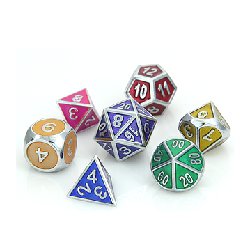 Die Hard Metal Dice Set