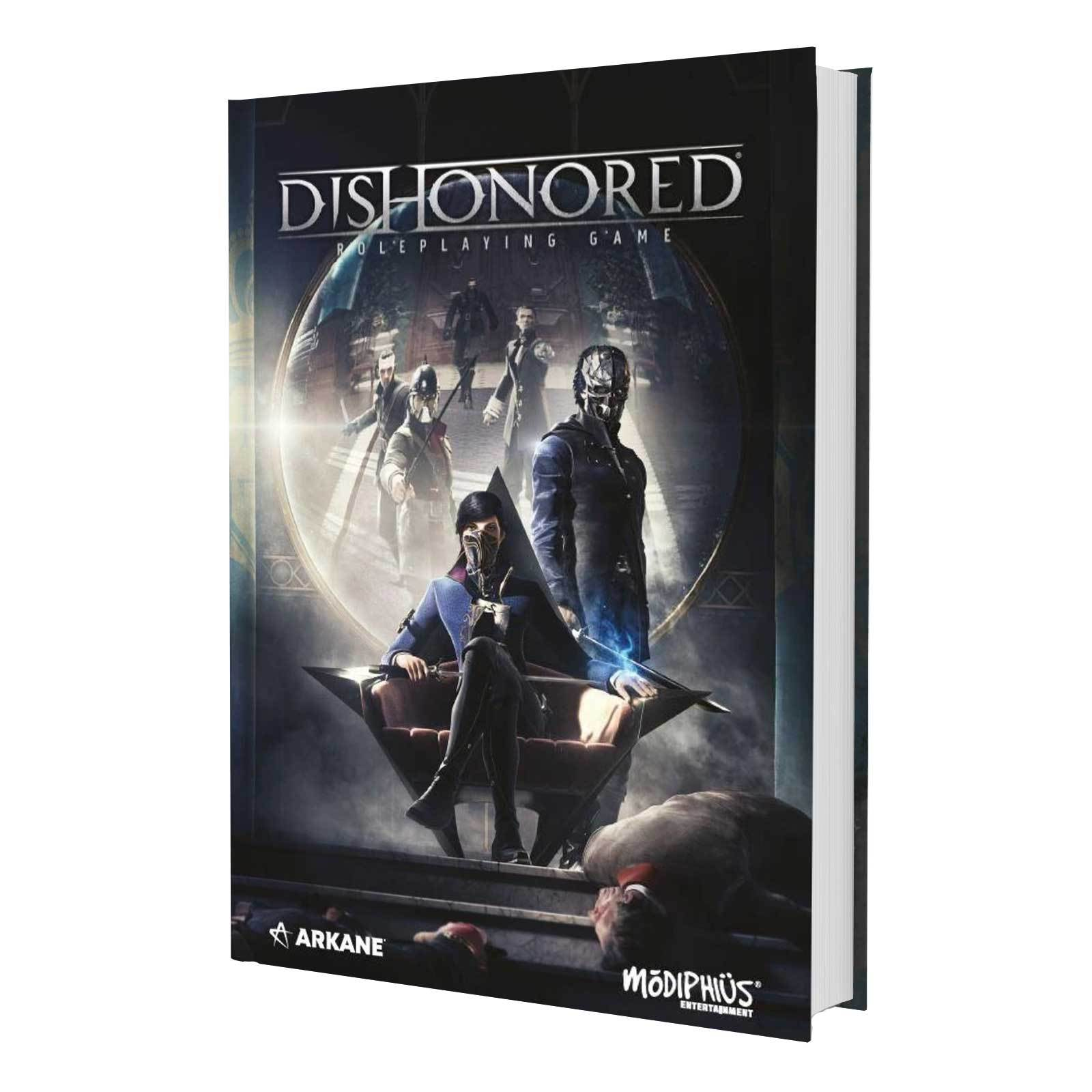 Cover art for Dishonored RPG