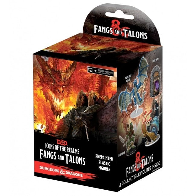 Icons of the Realms: Fangs and Talons Sealed Product