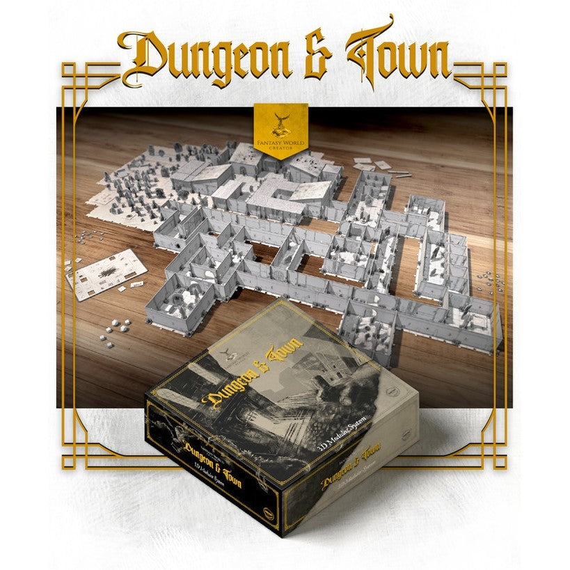 Fantasy World Creator Dungeon & Town