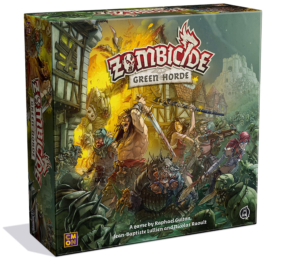 box packaging for zombicide green horde
