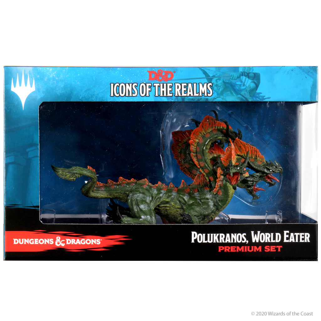Box Packaging for Icons of the Realms Polukranos
