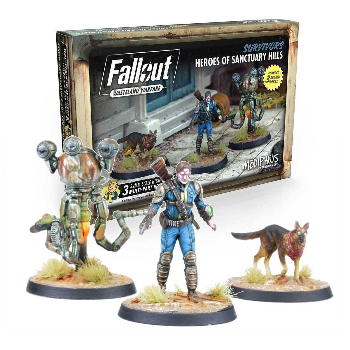 Product image for Survivors: Heroes of Sanctuary Hills