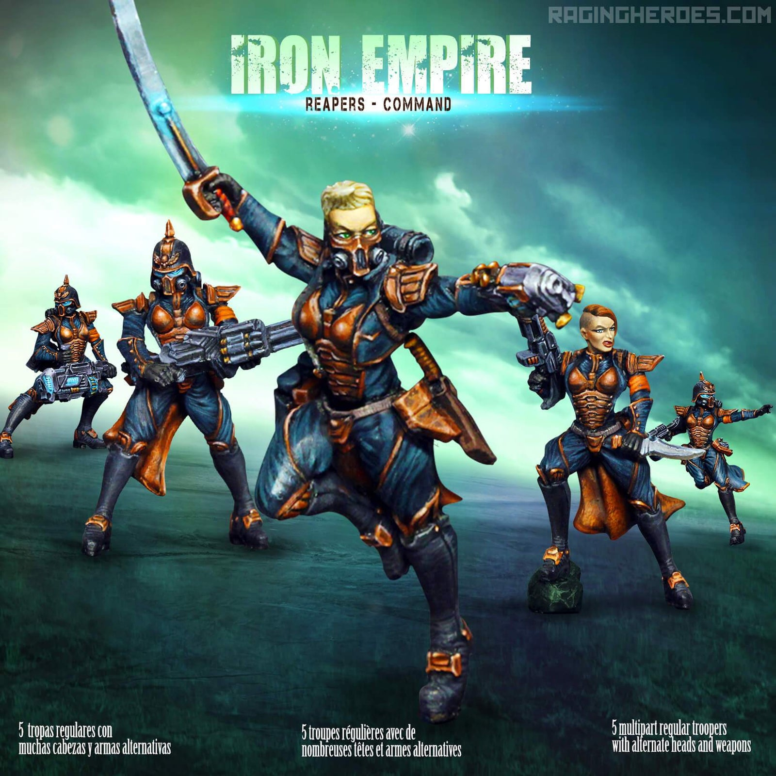 Iron Empire Reapers - Command
