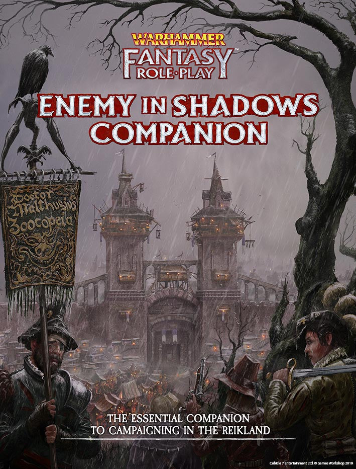 Warhammer Fantasy Roleplay Enemy in Shadows Companion