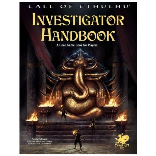 Call of Cthulhu: 7th Investigator Handbook - The Sword & Board