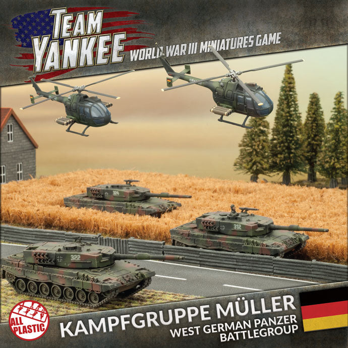 Team Yankee: Kampfgruppe Müller - The Sword & Board