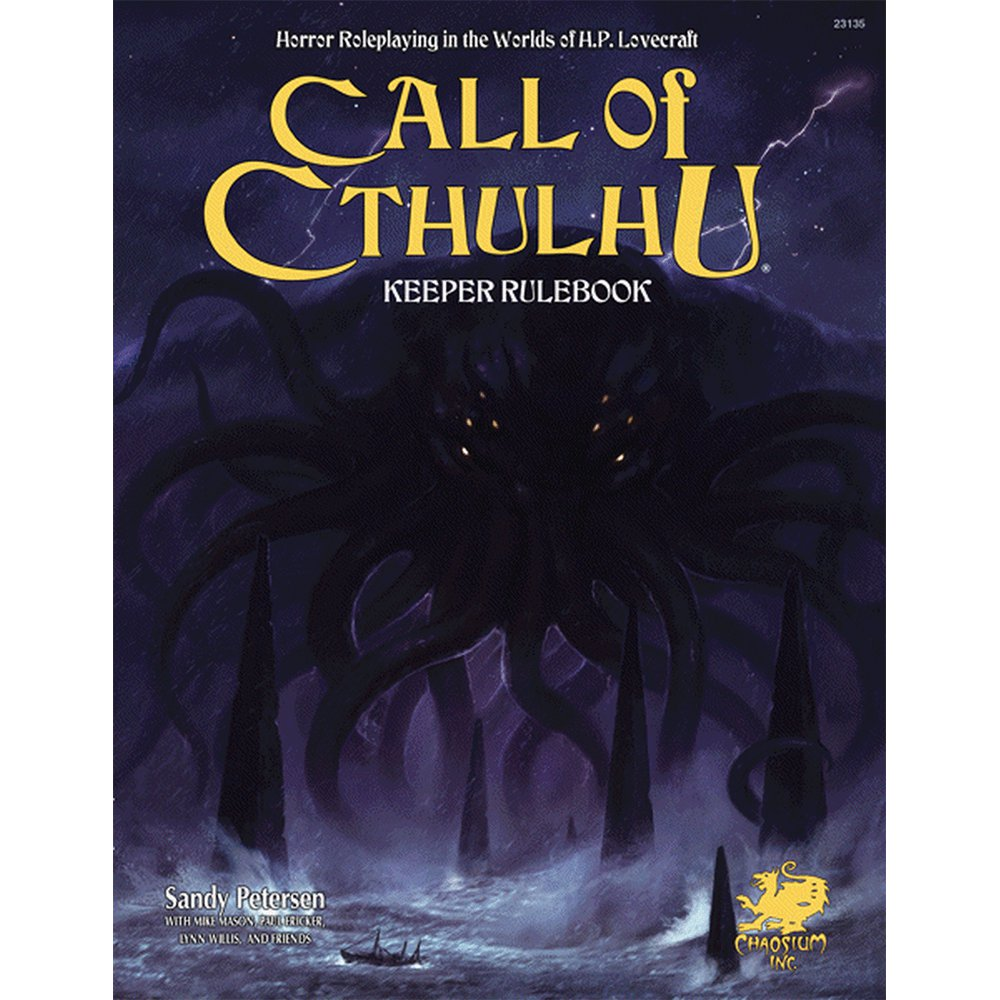 Call of Cthulhu: Seventh Edition Keepers Rulebook