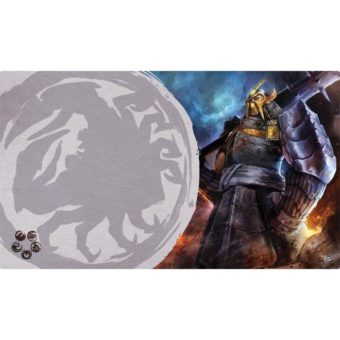 L5R Playmat - Defender of the Wall Playmat
