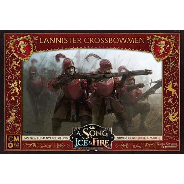 A Song of Ice & Fire Tabletop Miniatures Game: Lannister Crossbowmen