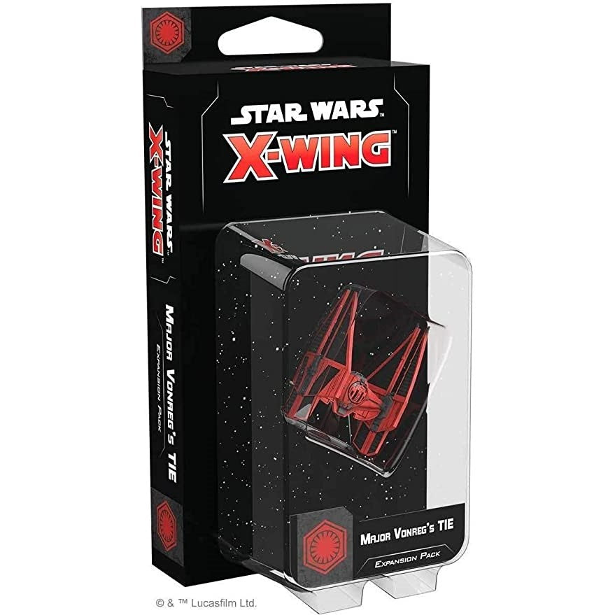 X-wing 2nd ed: Major Vongreg's Tie Expansion Pack