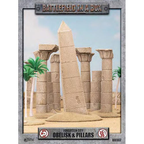 Battlefield in a Box Forgotten City Obelisk & Pillars
