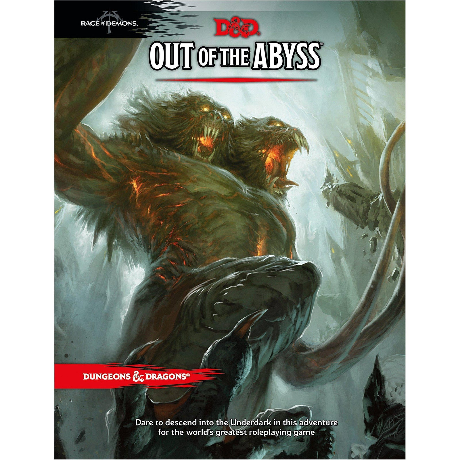 Dungeons and Dragons Out of the Abyss - The Sword & Board