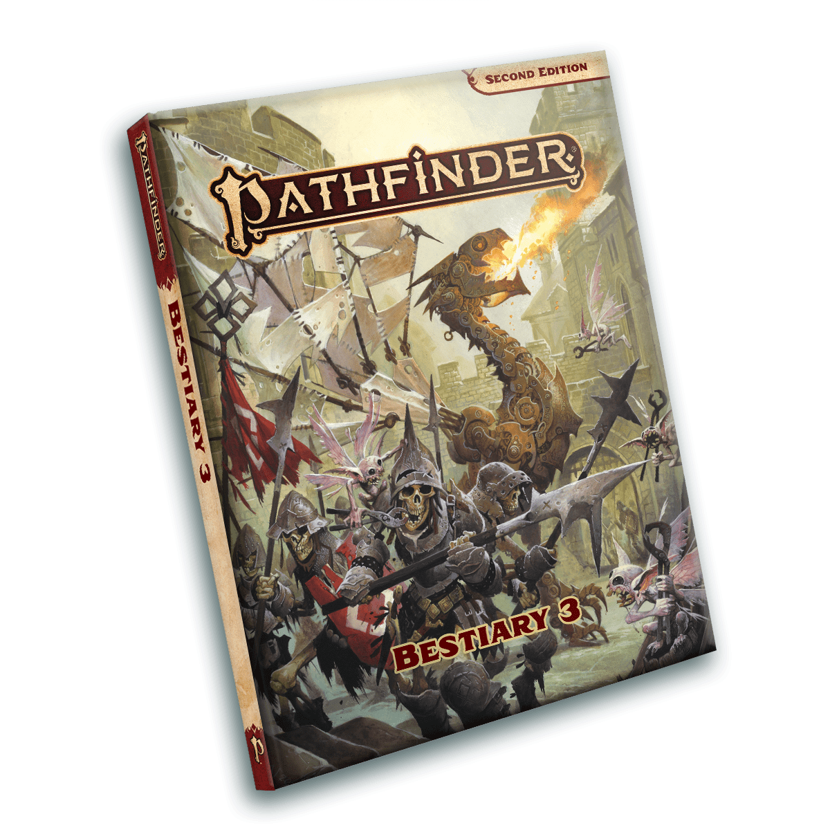 Cover Image for Pathfinder 2 Bestiary 3