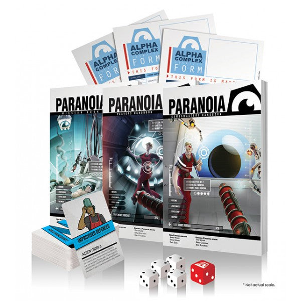 Paranoia: Red Clearance Edition