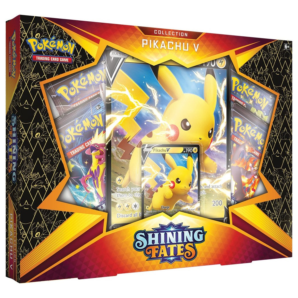 Pokemon Shining Fates Pikachu V Collection