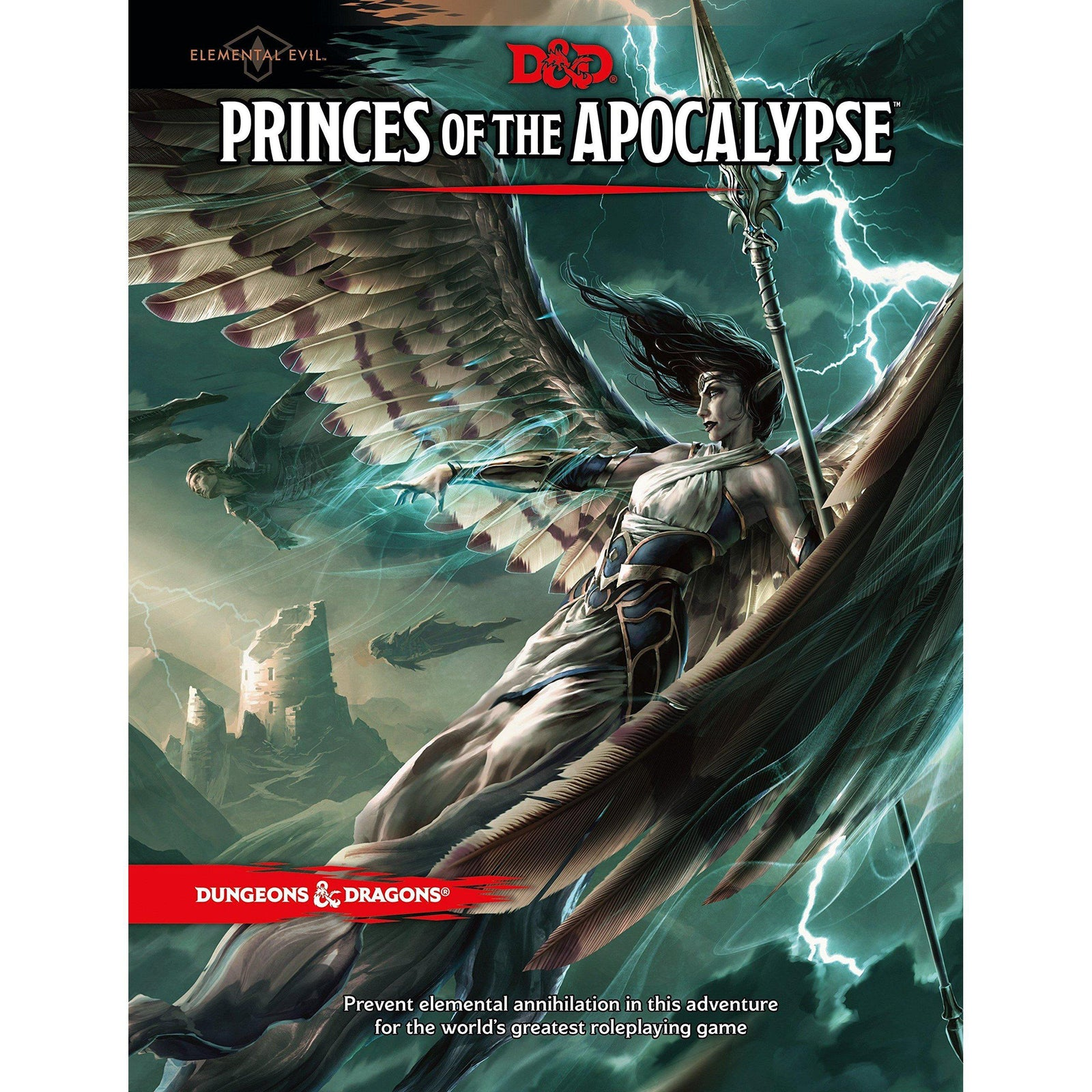 Dungeons and Dragons Princes of the Apocalypse - The Sword & Board