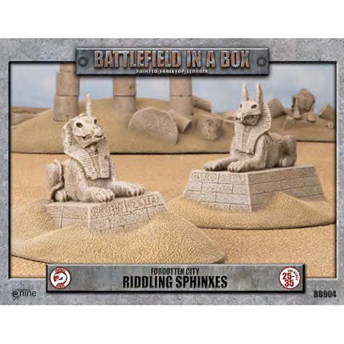 Battlefield in a Box Forgotten City Riddling Sphinxes