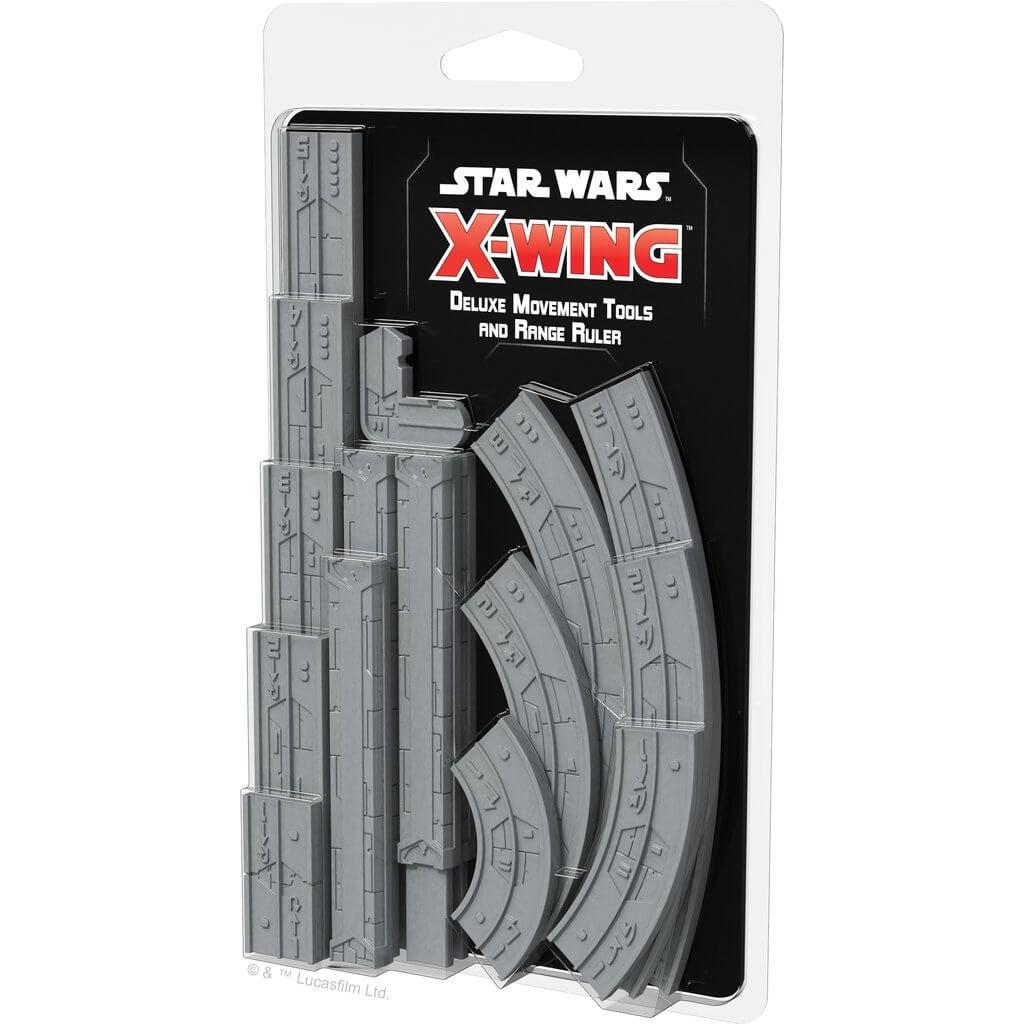 Star Wars: X-Wing - Deluxe Movement Tools and Range Ruler