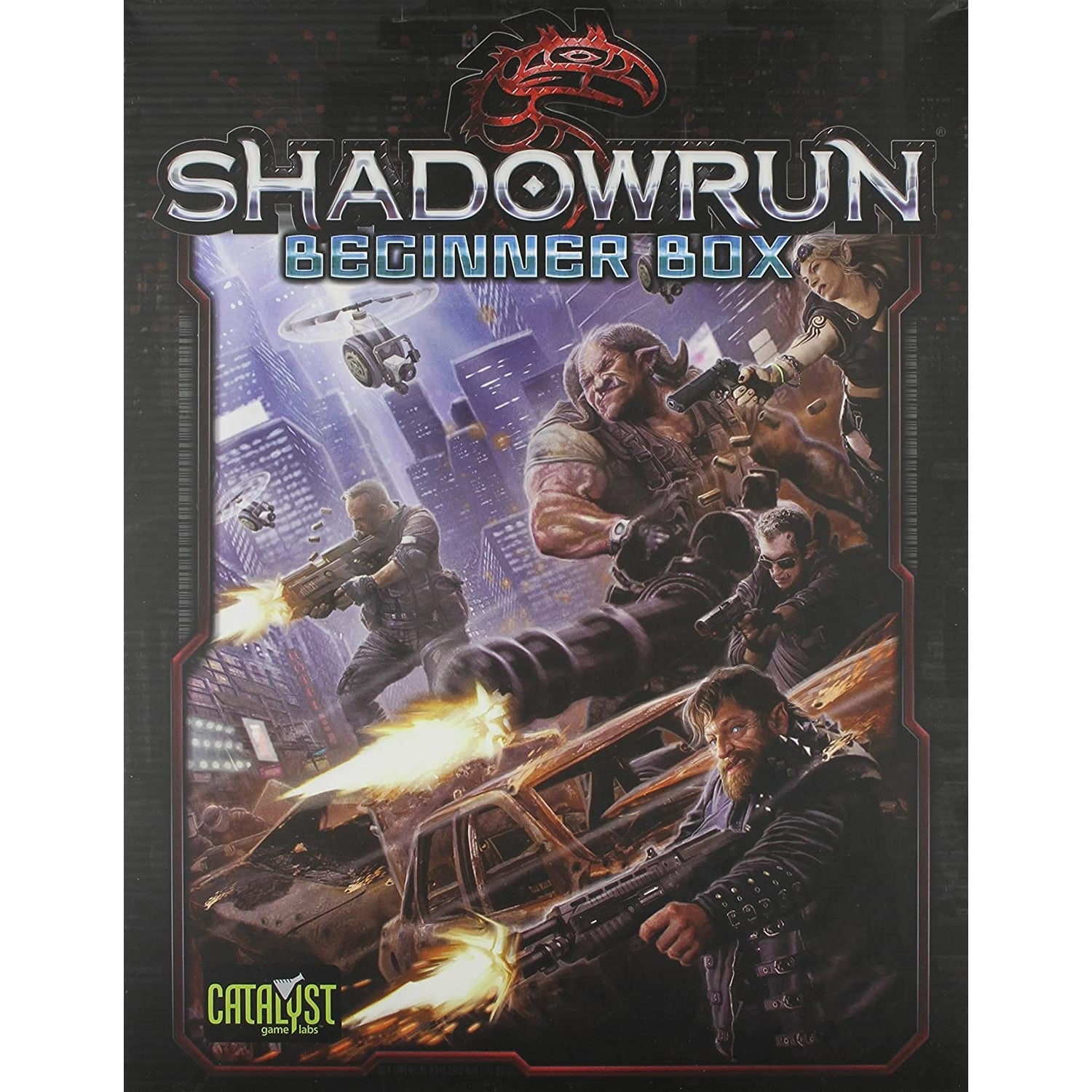 Shadowrun 6th Ed: Sixth World Beginner Box